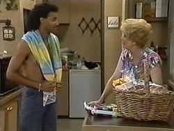 Eddie Buckingham, Madge Bishop in Neighbours Episode 1175
