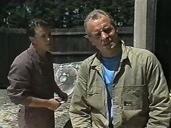 Matt Robinson, Jim Robinson in Neighbours Episode 1175