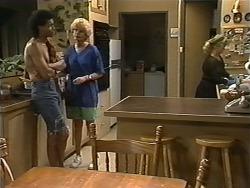 Eddie Buckingham, Madge Bishop, Sharon Davies in Neighbours Episode 1175
