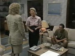 Beverly Robinson, Helen Daniels, Matt Robinson in Neighbours Episode 1175