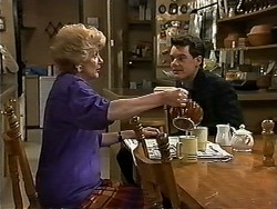 Madge Bishop, Paul Robinson in Neighbours Episode 1176
