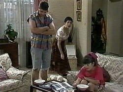 Joe Mangel, Kerry Bishop, Natasha Kovac in Neighbours Episode 1176