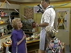 Madge Bishop, Harold Bishop in Neighbours Episode 1176
