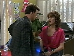 Paul Robinson, Christina Alessi in Neighbours Episode 1176