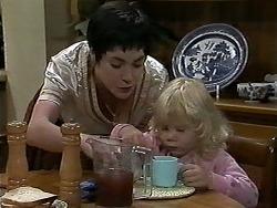 Kerry Bishop, Sky Mangel in Neighbours Episode 1177