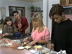 Cody Willis, Josh Anderson, Melissa Jarrett, Todd Landers in Neighbours Episode 1178