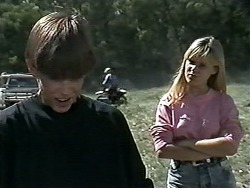 Todd Landers, Melissa Jarrett in Neighbours Episode 1178