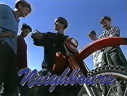 Ryan McLachlan, Josh Anderson, Todd Landers, Ben, Foggy in Neighbours Episode 1178