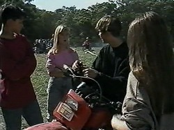 Josh Anderson, Melissa Jarrett, Todd Landers, Cody Willis in Neighbours Episode 1179