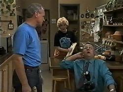 Jim Robinson, Madge Bishop, Harold Bishop in Neighbours Episode 1179
