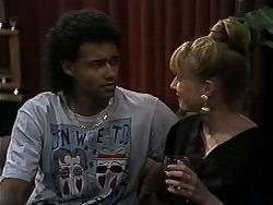 Eddie Buckingham, Melanie Pearson in Neighbours Episode 1179