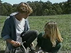 Ryan McLachlan, Melissa Jarrett in Neighbours Episode 1179
