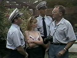 Police Officer, Melanie Pearson, Harold Bishop in Neighbours Episode 1179