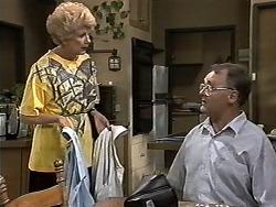 Madge Bishop, Harold Bishop in Neighbours Episode 1180