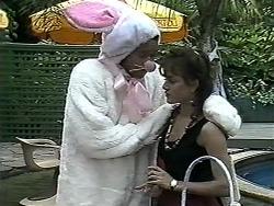 Eddie Buckingham, Christina Alessi in Neighbours Episode 1180