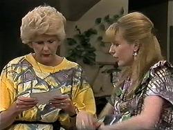Madge Bishop, Melanie Pearson in Neighbours Episode 1180