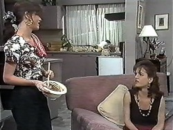 Caroline Alessi, Christina Alessi in Neighbours Episode 1181