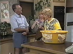 Harold Bishop, Melanie Pearson, Madge Bishop in Neighbours Episode 1181
