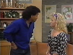 Eddie Buckingham, Sharon Davies in Neighbours Episode 1183