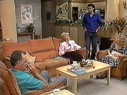 Harold Bishop, Madge Bishop, Eddie Buckingham in Neighbours Episode 1183