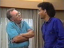 Harold Bishop, Eddie Buckingham in Neighbours Episode 1183