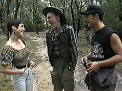 Kerry Bishop, Lester Cooper, Matt Robinson in Neighbours Episode 1183