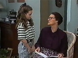 Lochy McLachlan, Dorothy Burke in Neighbours Episode 1183