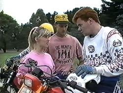 Melissa Jarrett, Josh Anderson, Gary