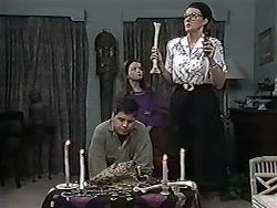 Joe Mangel, Lochy McLachlan, Dorothy Burke in Neighbours Episode 1184