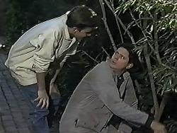 Todd Landers, Joe Mangel in Neighbours Episode 1184