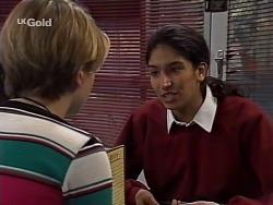 Danni Stark, Lata Chatterji in Neighbours Episode 2229