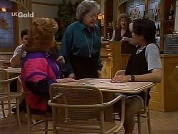 Barb Connel, Marlene Kratz, Cheryl Stark, Sam Kratz in Neighbours Episode 2229