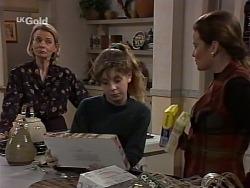 Helen Daniels, Hannah Martin, Julie Robinson in Neighbours Episode 2229