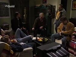 Sam Kratz, Brett Stark, Rick Alessi, Lou Carpenter, Philip Martin, Mark Gottlieb in Neighbours Episode 2229