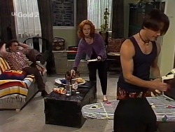 Mark Gottlieb, Ren Gottlieb, Rick Alessi in Neighbours Episode 2230