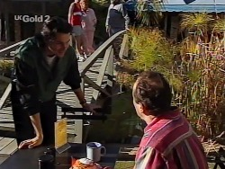 Sam Kratz, Philip Martin in Neighbours Episode 2230