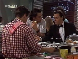 Mark Gottlieb, Sam Kratz, Rick Alessi in Neighbours Episode 2230