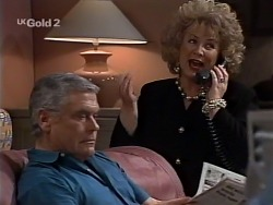 Lou Carpenter, Cheryl Stark in Neighbours Episode 2230