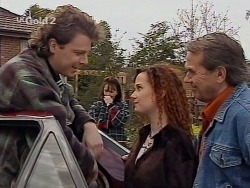 Jack Flynn, Pam Willis, Cody Willis, Doug Willis in Neighbours Episode 2230