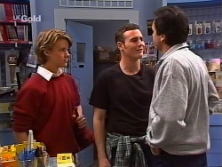 Billy Kennedy, Stonie Rebecchi, Karl Kennedy in Neighbours Episode 2272