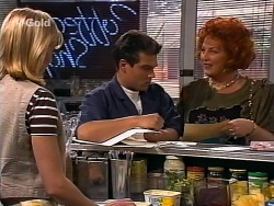 Annalise Hartman, Mark Gottlieb, Cheryl Stark in Neighbours Episode 2272