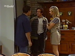 Mark Gottlieb, Rick Alessi, Annalise Hartman in Neighbours Episode 2272