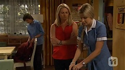 Bailey Turner, Lauren Turner, Amber Turner in Neighbours Episode 6586