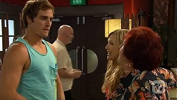 Kyle Canning, Georgia Brooks, Angie Rebecchi in Neighbours Episode 6587