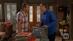 Toadie Rebecchi, Karl Kennedy in Neighbours Episode 6588