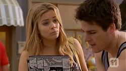 Natasha Williams, Chris Pappas in Neighbours Episode 6588