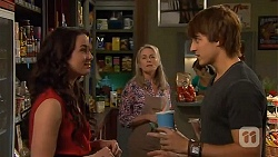 Kate Ramsay, Lauren Turner, Mason Turner in Neighbours Episode 6589