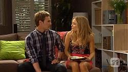 Andrew Robinson, Natasha Williams in Neighbours Episode 6589
