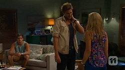 Kyle Canning, Scotty Boland, Georgia Brooks in Neighbours Episode 6590