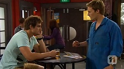 Kyle Canning, Andrew Robinson in Neighbours Episode 6590